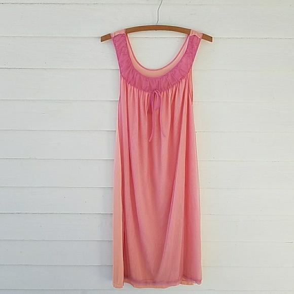 Vintage 1950s 1960s Babydoll Nightgown. M 5a79e0595521be93b943a60e c6a02511b